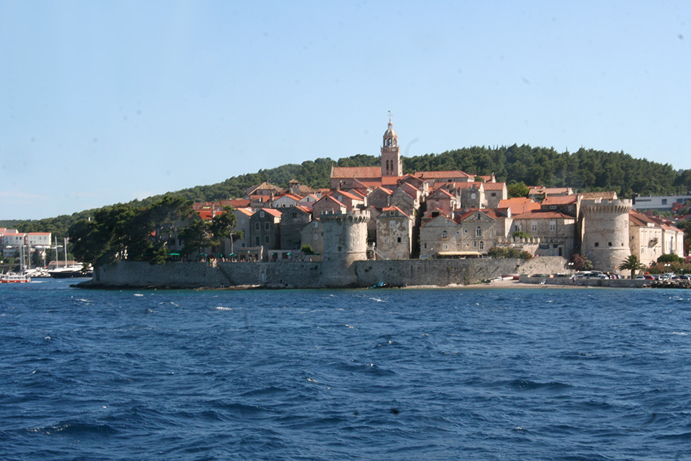 The most popular destinations on the island of Korcula are the town of Korcula, beautiful, stone walled medieval town built on a small peninsula and the village ancient of Lumbarda with beautiful sandy beaches.