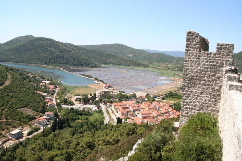 Take a moment and walk around this classic and beautiful medieval village of Ston.